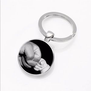 Accessories - Dad and baby keychain